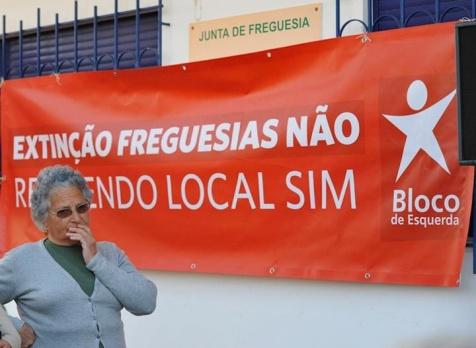 Moção contra a extinção de freguesias