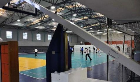 Pavilhão, escola secundária Portela, Loures