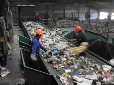 Valorsul, separação do lixo